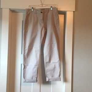 Broken-in-Straight Khakis by GAP